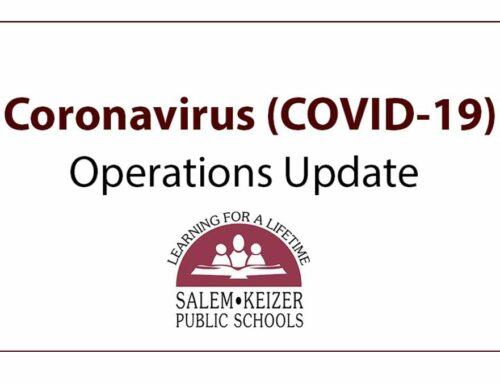 Coronavirus (COVID-19) Operations Update | Actualización de operaciones escolares por el Coronavirus (COVID-19)